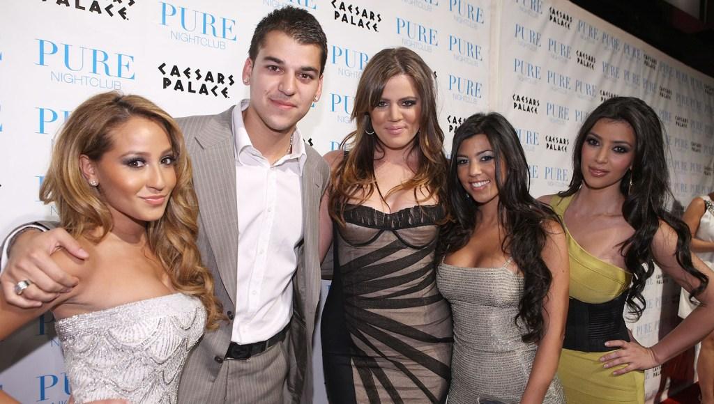 Adrienne Bailon Rob Kardashian Khloe Kardashian Kim Kardashian Kourtney Kardashian
