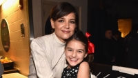 Katie Holmes with daughter Suri