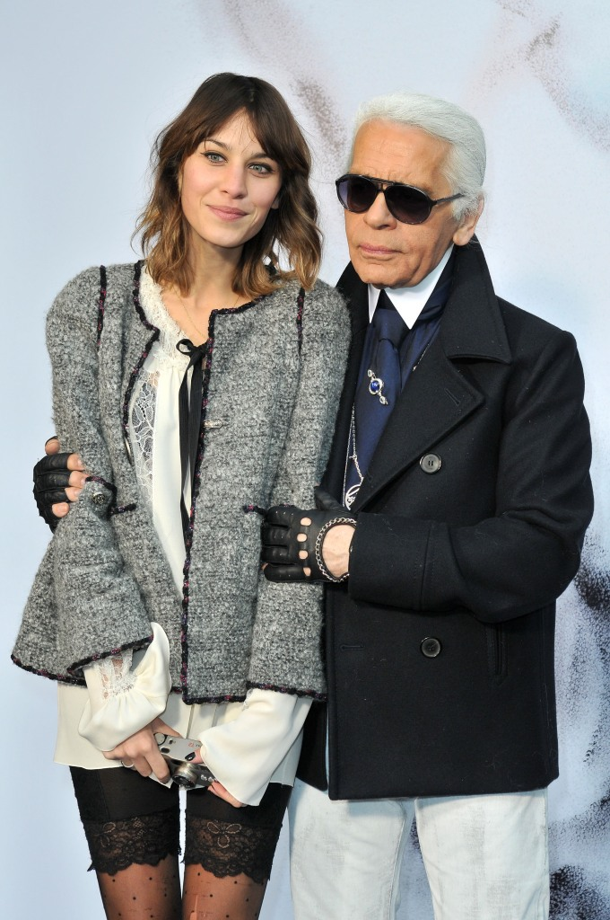 Alexa Chung pays tribute to Karl Lagerfeld after passing