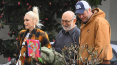 Blake Shelton and Gwen Stefani spotted spending time with her family