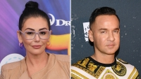 Jersey Shore Star JWoww Rocks The Situation's Hoodie While He's Behind Bars