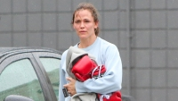 Jennifer Garner Boxing Workout