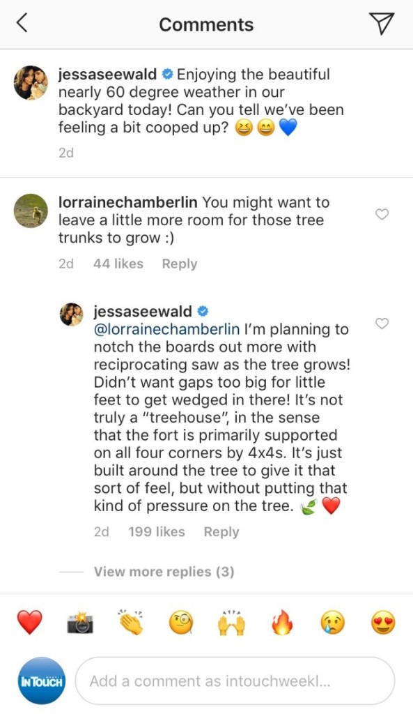 Jessa Duggar tree house