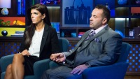 Joe and Teresa Giudice on WWHL