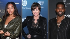 Jordyn Woods, Kris Jenner, and Tristan Thompson