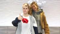 Justin Bieber and Hailey Baldwin Walking