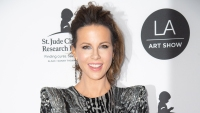 Kate Beckinsale Looks Camera-Shy While Exiting LA Hot Spot Craigs