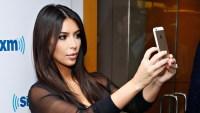 Kim Kardashian slammed for taking selfies