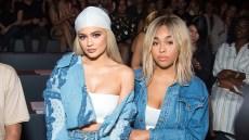 Kylie Jenner Jordyn Woods Jonathan Simkhai fashion show