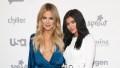 Kylie Jenner and Khloé Kardashian