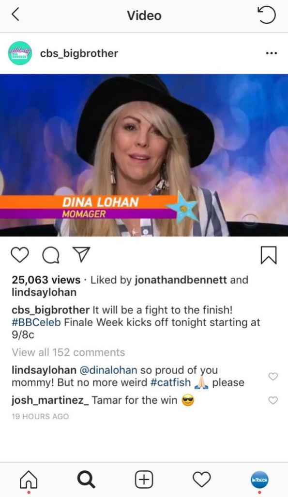 Lindsay Lohan comments on mom's dating life