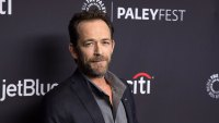 Luke Perry's Friends and Family Rushed to His Side Following Stroke