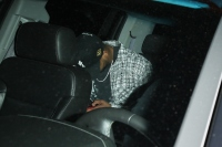 Tristan Thompson is seen leaving the Delilah restaurant amidst rumors that he and Khloé Kardashian have split up