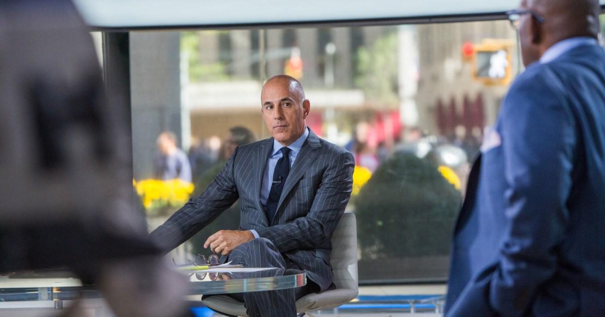 ExclusiveMatt Lauer Has 'No Plans' for a TV Return: 'No One Wants Him Back'
