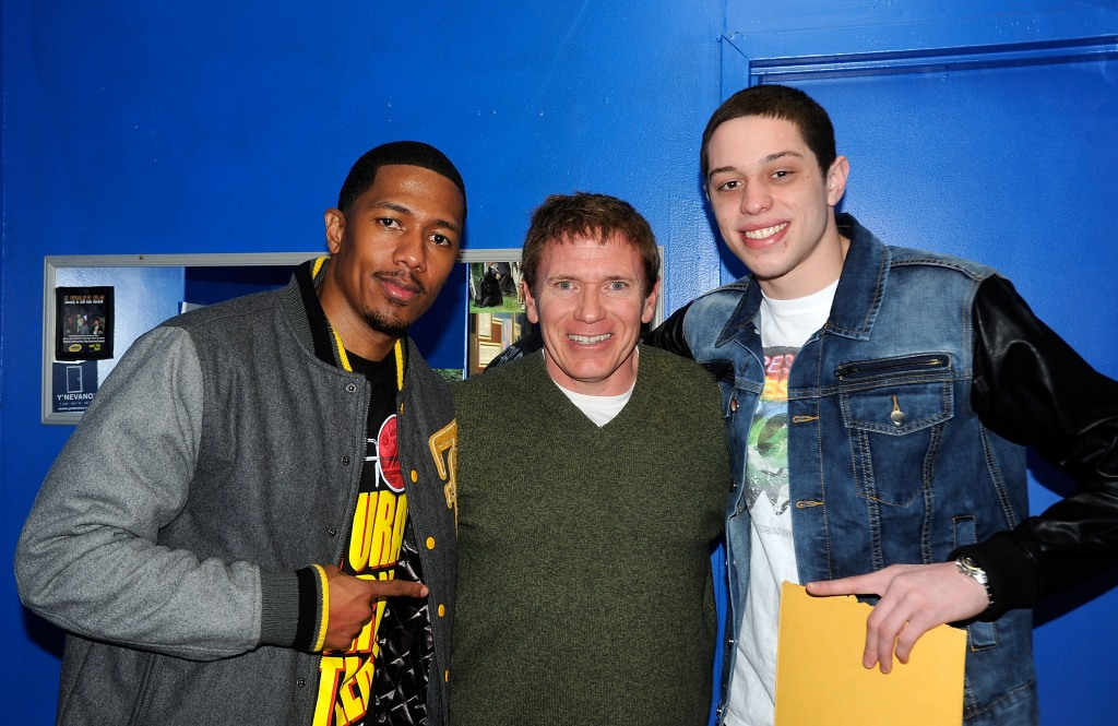 Nick Cannon Pete Davidson The Stress Factory Comedy Club