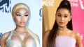 Nicki Minaj Says She Hasn't Won a Grammy Because She Pissed Off the Same Guy as Ariana Grande