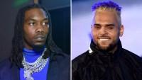 Offset Feud Chris Brown