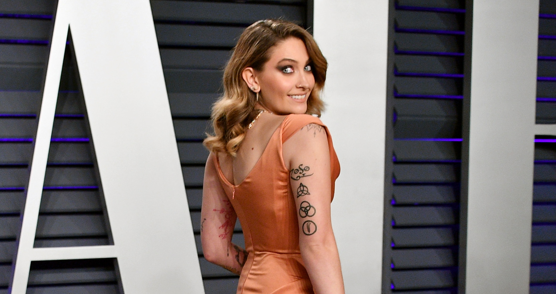 Paris Jackson Glows At An Oscars Party One Month After Rehab