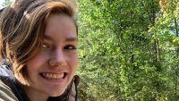 Rain Brown Smiles In Selfie