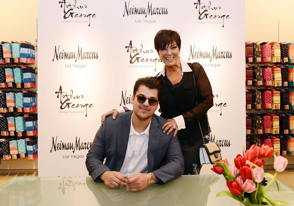 Rob Kardashian Arthus George sock launch