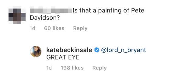 Kate Beckinsale Pete Davidson