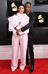 Travis Scott Kylie Jenner Grammys 2019