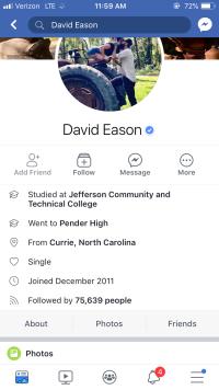 david eason facebook