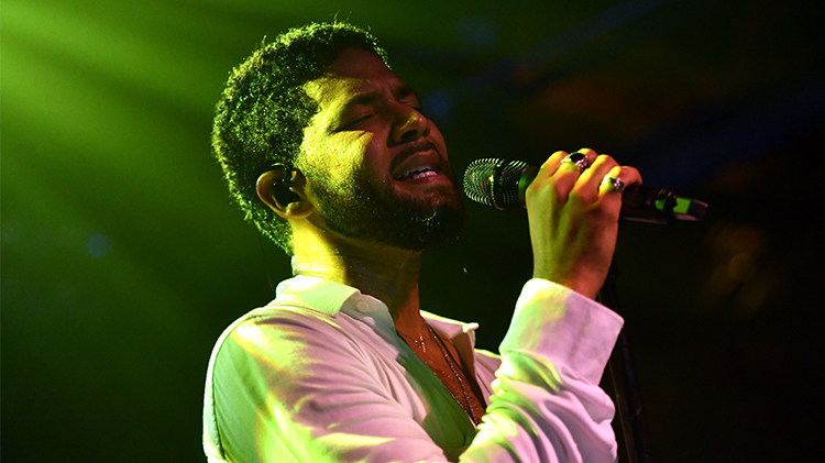 empire jussie smollett performance