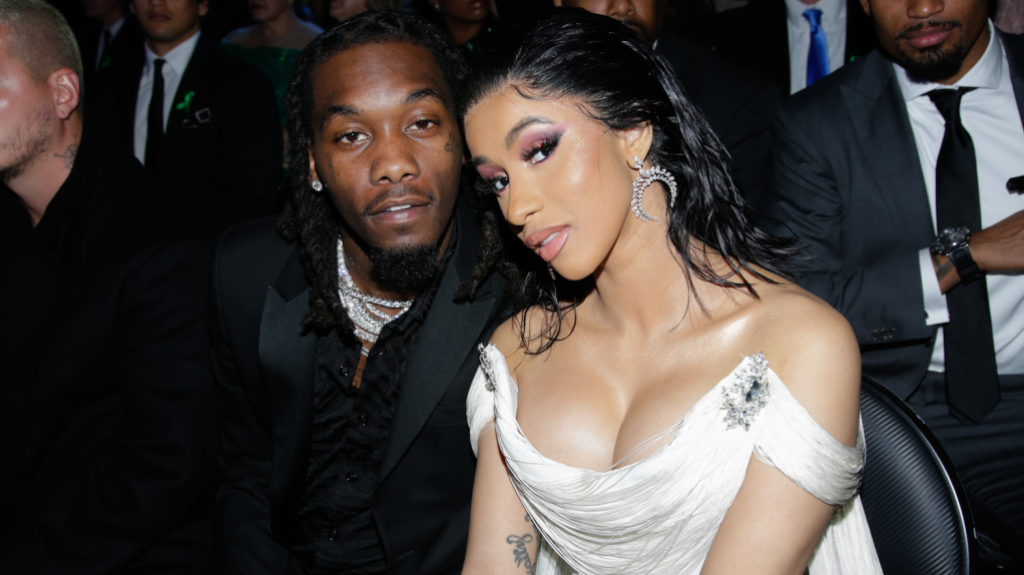 offset and cardi b grammys
