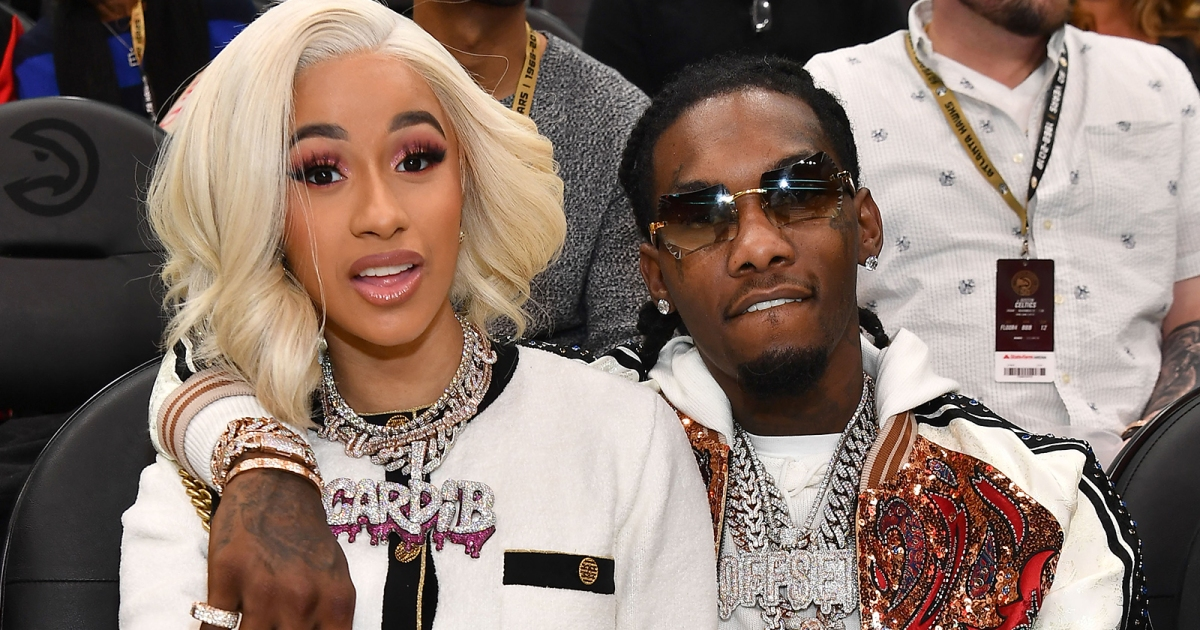 Offset And Cardi B Don't Want Kulture To Be Spoiled
