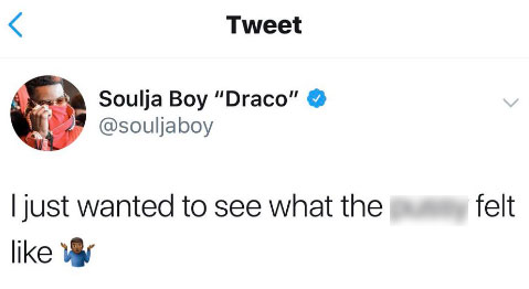 Soulja Boy Had the Most NSFW Response to Those Blac Chyna Dating Rumors