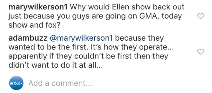 Adam Busby Shades Ellen
