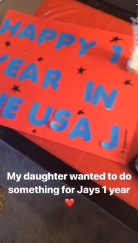 '90 Day Fiance' Star Ashley's Daughter Celebrates Jay's One-Year in USA