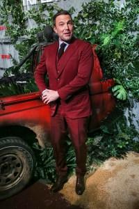 Ben Affleck at Triple Frontier Premiere He Looks Happy Handsome