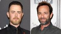 Tom Hanks Son Colin Recalls the Time He Met Luke Perry