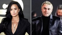 Demi Lovato Henri Levy Split