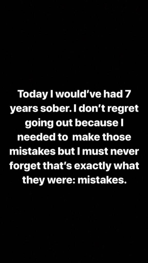 Demi Lovato Instagram Story 3.15