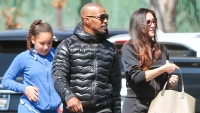 Jamie Foxx spending time with his ex-girlfriend Kristin Grannis and their daughter Annalise