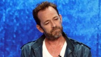 Luke Perry at an event