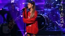 Ariana Grande performed needy at the iheartradio awards