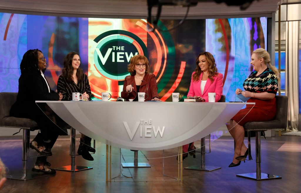 Joy behar and the rest of the ladies on the view