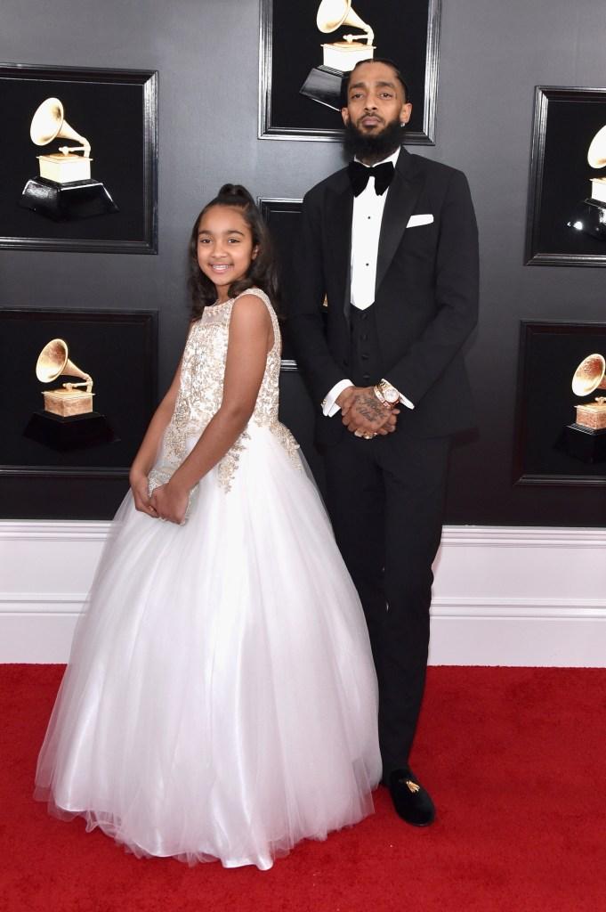 Nipsey Hussle's Family: Meet GF Lauren London, Son, and Daughter