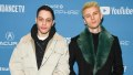 pete davidson with machine gun kelly