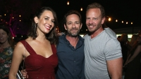 Ian Ziering Shares a Sweet Story About Luke Perry's Kindness Following His Sudden Passing