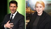 Isabella Cruise and Tom Cruise