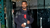 Jamie Foxx Is Seen leaving Mr Chow With a Brunette Beauty Who Isn't Katie Holmes
