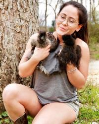 Jenelle Evans Shows Off Her New Fluffy Family Additions