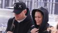 Jessie J and Channing Tatum holding hands through Heathrow airport.