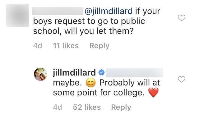 Jill Duggar Says She Will Maybe Send Sons To Public School