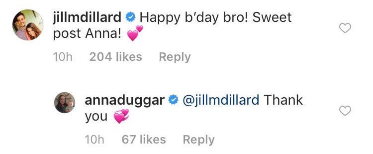 Jill Duggar Wishes Josh Happy Birthday